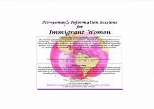 Citizenship and Immigration Info Session