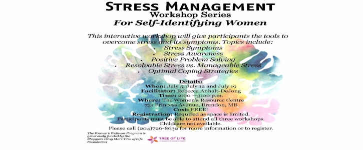 Stress Management Series Poster for Web