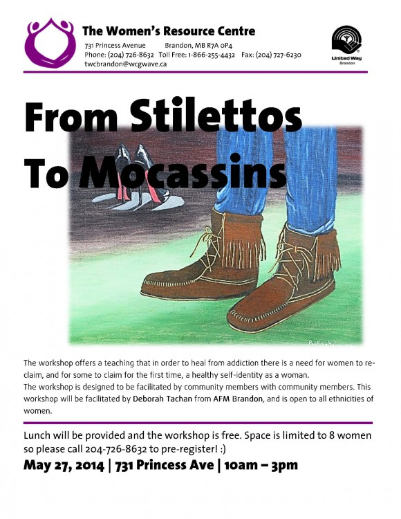 Stiletto's To Mocacin AD - May 2015